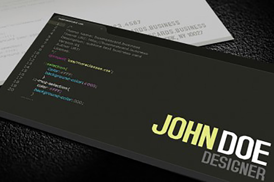 business card, branding, rh technology6
