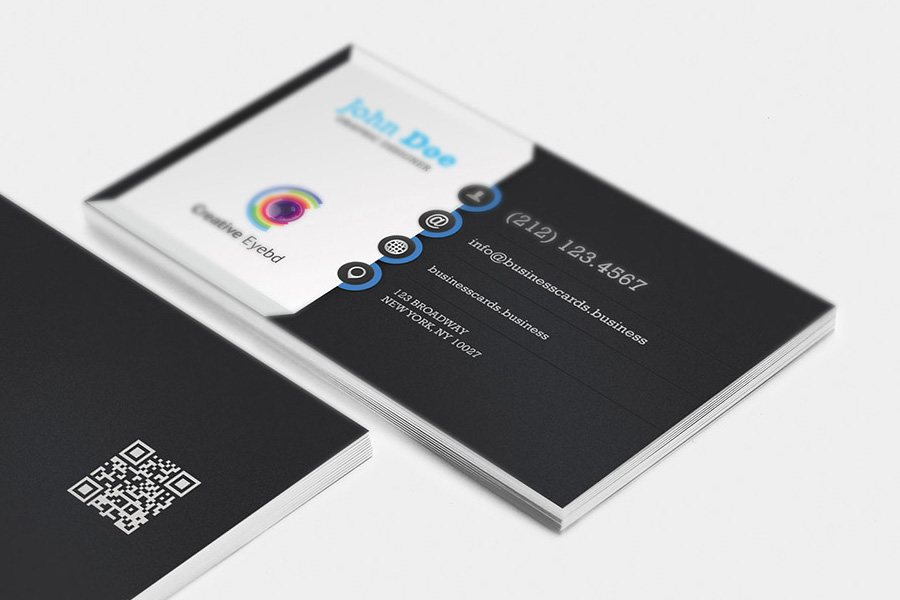 business card, branding, rh technology8