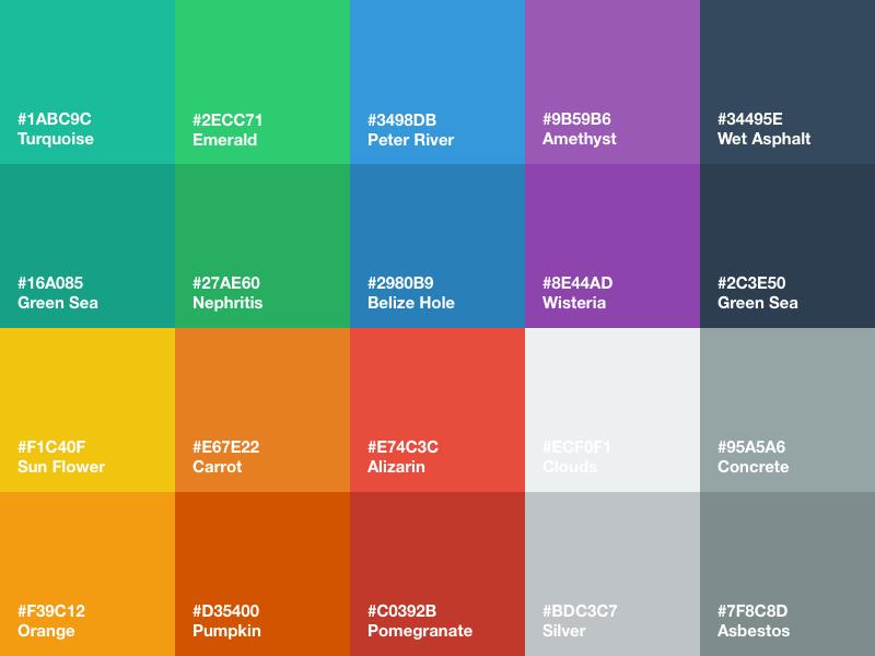colours in business, branding, colors pallette, web design, colours, rh technology